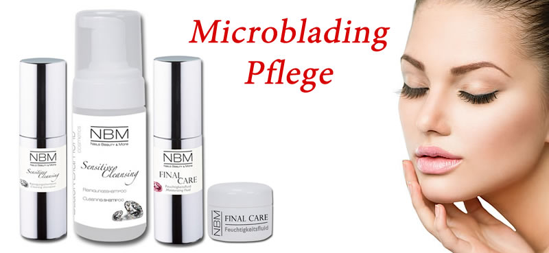 pflege nach microblading